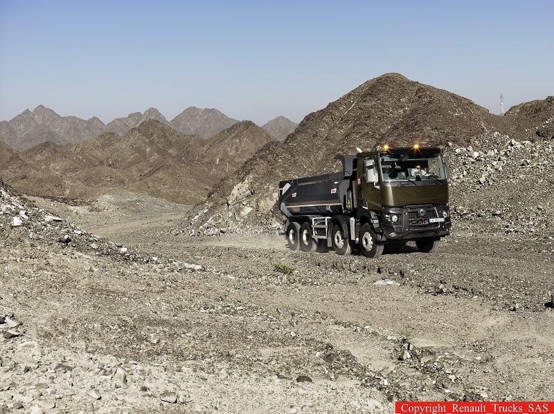 Noile game Renault Trucks C și K – pariul pentru robustețe