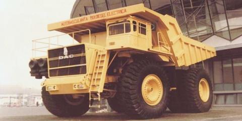 Povestea Supercamionului DAC 120 DE