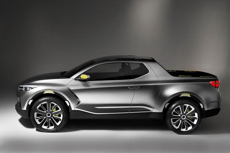 Hyundai dă ca sigur pickup-ul Santa Cruz