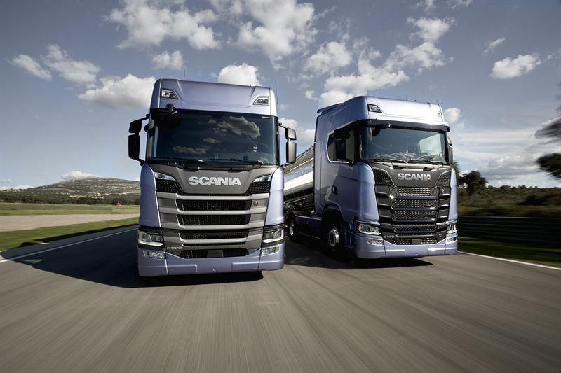 Scania a lansat noua gamă de camioane