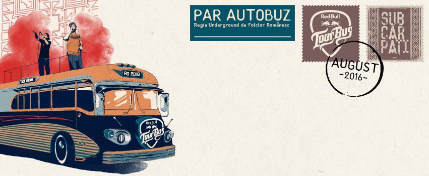 Red Bull Tour Bus prima dată în România cu Subcarpați