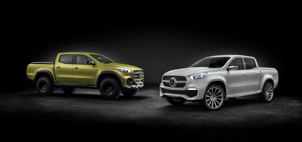 Mercedes-Benz a prezentat conceptele pickup X-Class