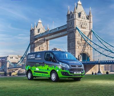 Ford testează 20 de Transit PHEV în Londra