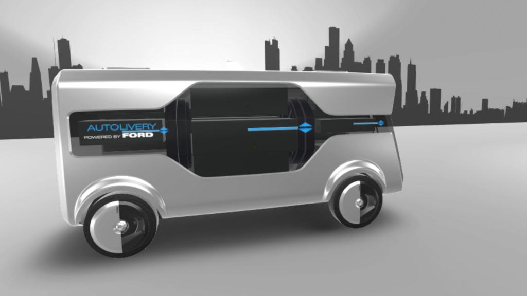 "Ford a prezentat conceptul autonom ""Autolivery"""