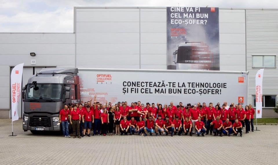 Renault Trucks a organizat finala națională #OptifuelChallenge2017