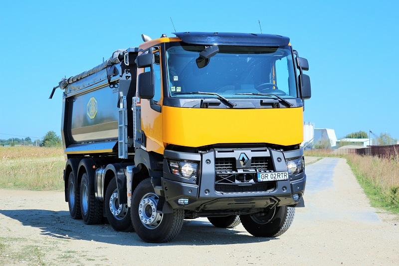 Renault Trucks K460 – test de lucru