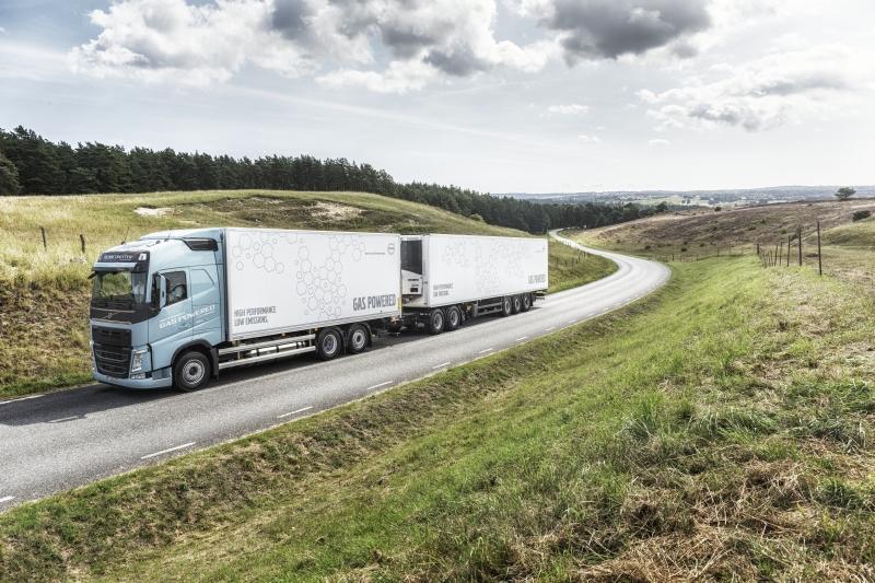Camioane Volvo cu LNG care oferă aceleași performanțe ca cele diesel