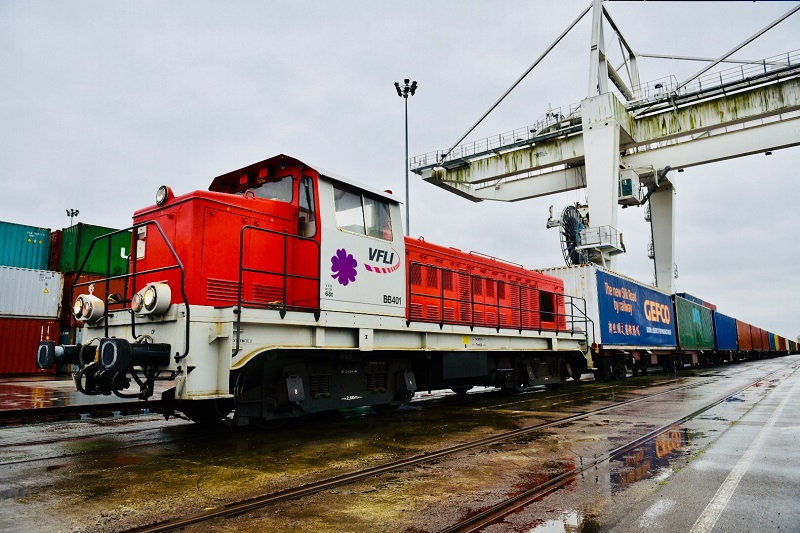 Primul tren bloc complet GEFCO pe noul Drum al mătăsii