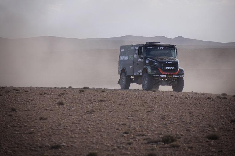 Team De Rooy câștigă Rallye OiLibya cu anvelope de camion Goodyear