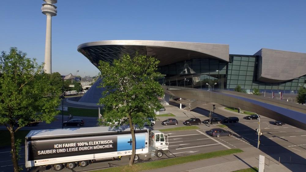 Camioane electrice pentru uzina BMW Group din München