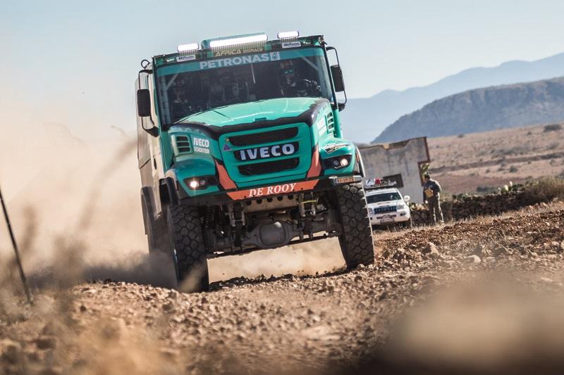 Gerard de Rooy se alătură 'Old school Dakar' și câștiga Africa Eco Race pe anvelope Goodyear