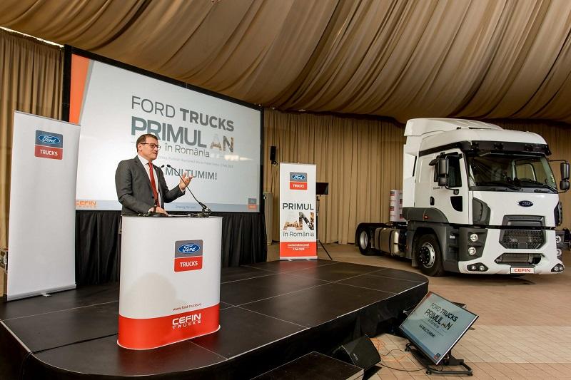 Ford Trucks anunță că au investit 4,5 milioane de euro în primul an în România