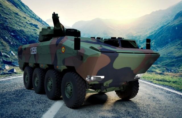 Primul blindat româno-german va ieşi pe poarta uzinei de la Moreni în anul 2020