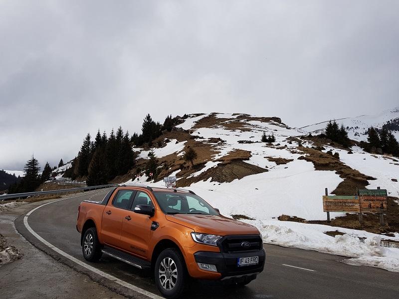 Ford Ranger Wildtrack – utilitară de vârf