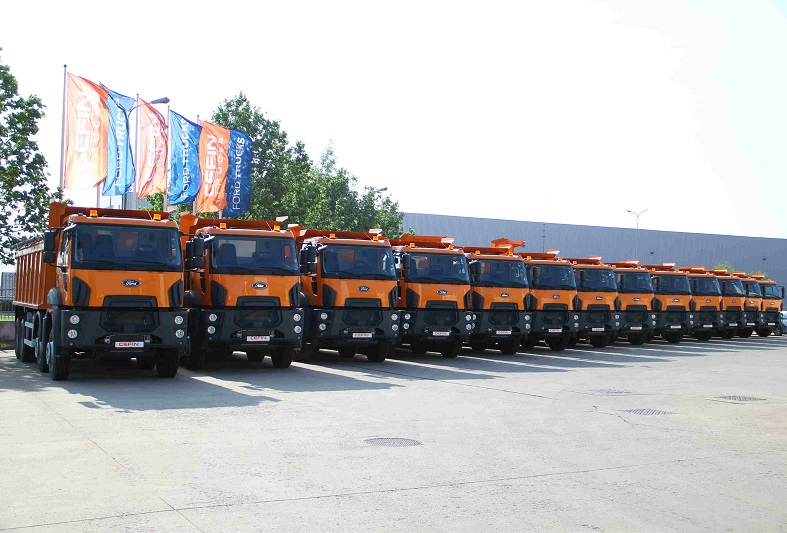 103 Autobasculante Ford Trucks 3542D vor fi livrate către CNAIR
