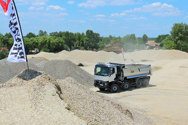 Renault Trucks pentru construcții – optimizare în condiții grele de exploatare