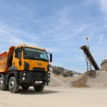 Camionul de construcții Ford Trucks – un partener robust