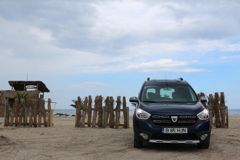 Dacia Dokker Stepway – utilitara de vacanță