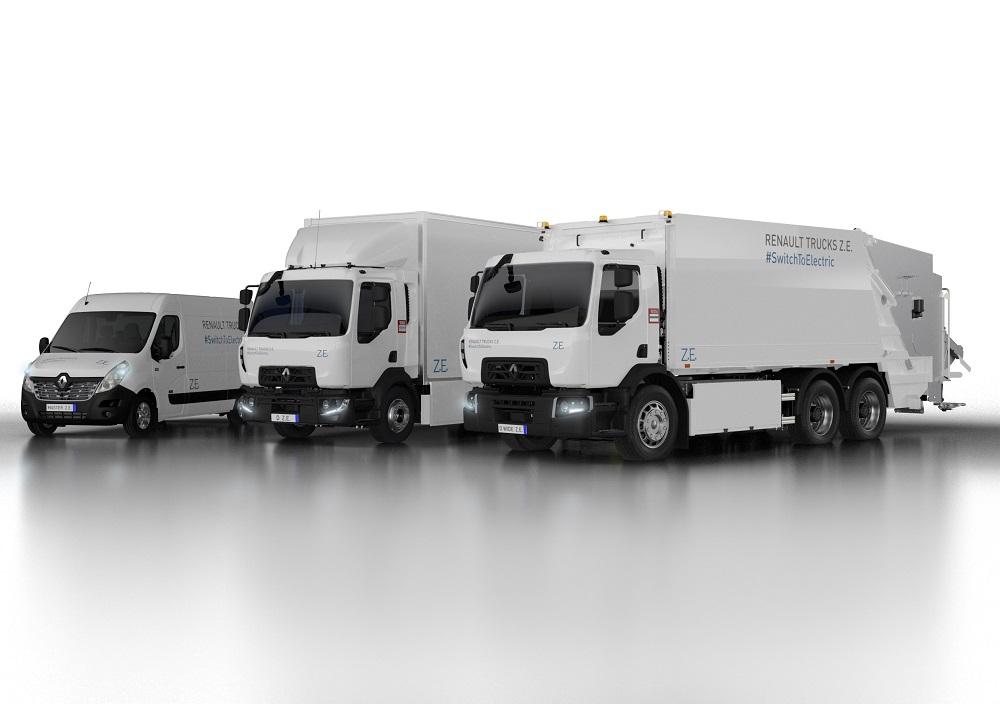 Renault Trucks lansează a doua generație de camioane electrice – Z.E. range