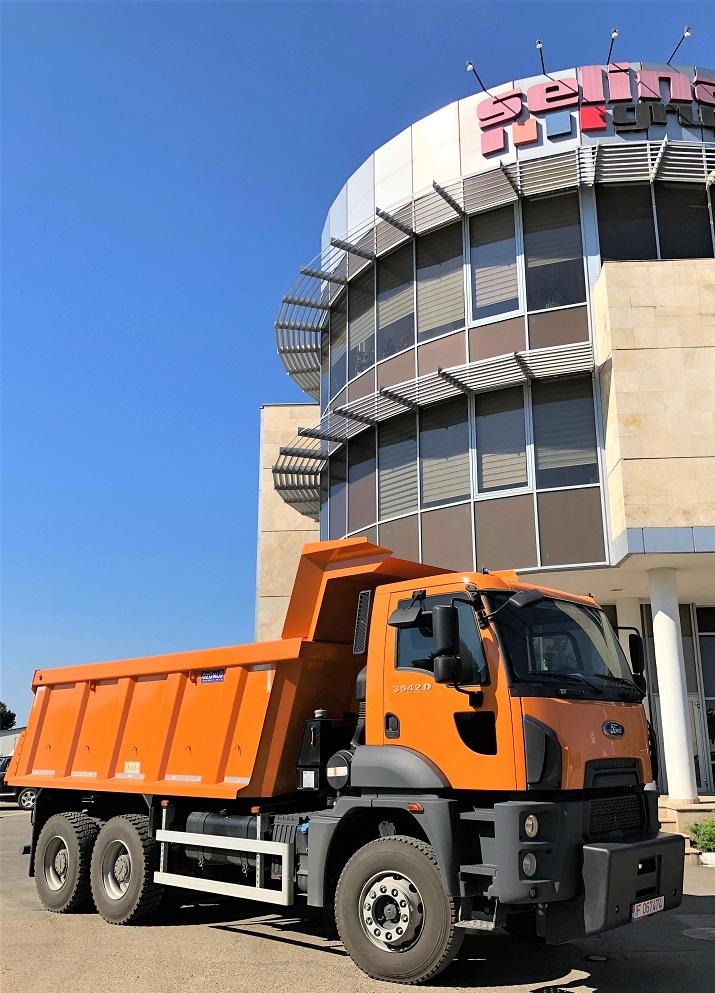 Parteneriat Ford Trucks – Selina Grup