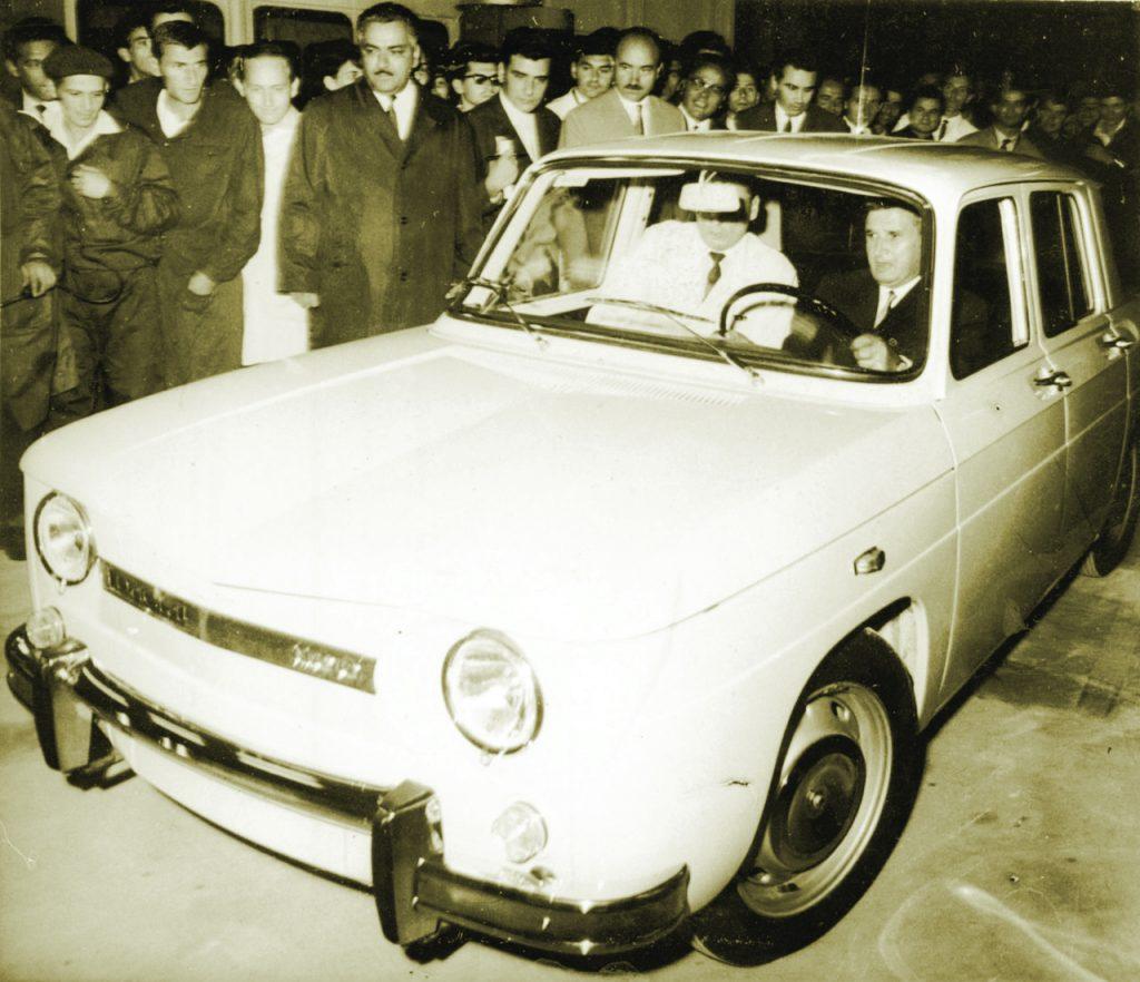 Dacia sărbătorește 50 de ani de la fabricarea primului autoturism
