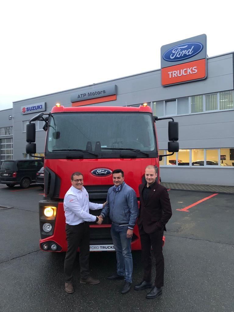 Vehiculul Comercial Ford Trucks cu numărul 500, livrat în România