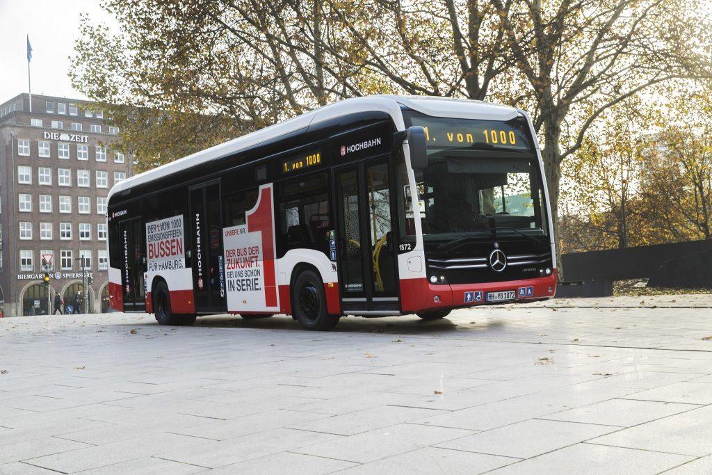 Mercedes-Benz a livrat primul autobuz 100% electric, eCitaro în Hamburg