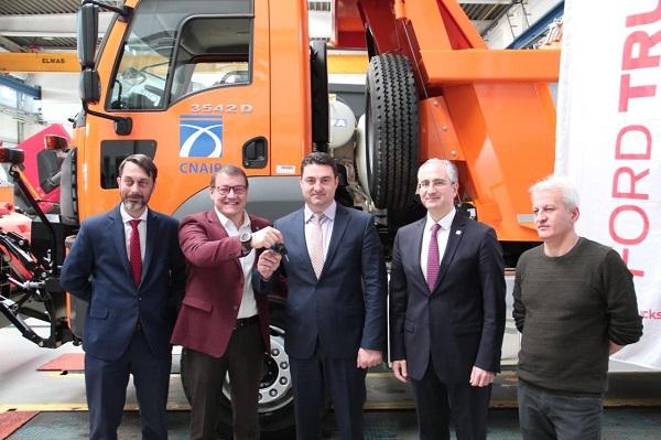 Cefin Trucks a livrat către CNAIR 103 Autobasculante Ford Trucks 3542D