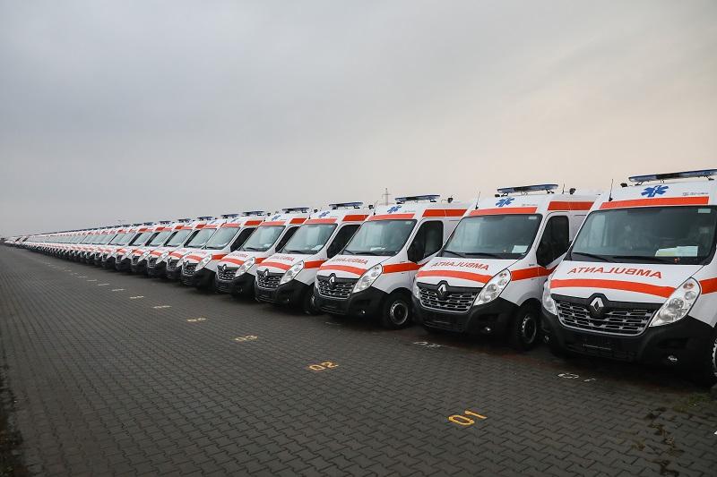 Renault livrează 300 de ambulanțe către IGSU