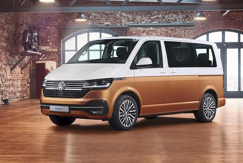 VW a prezentat în premieră mondială noul Multivan T6.1