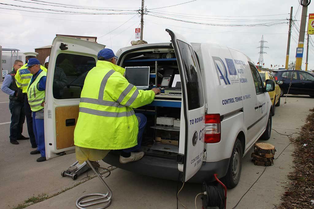 RAR: 5% din vehiculele verificate de inspectori anul trecut erau periculoase