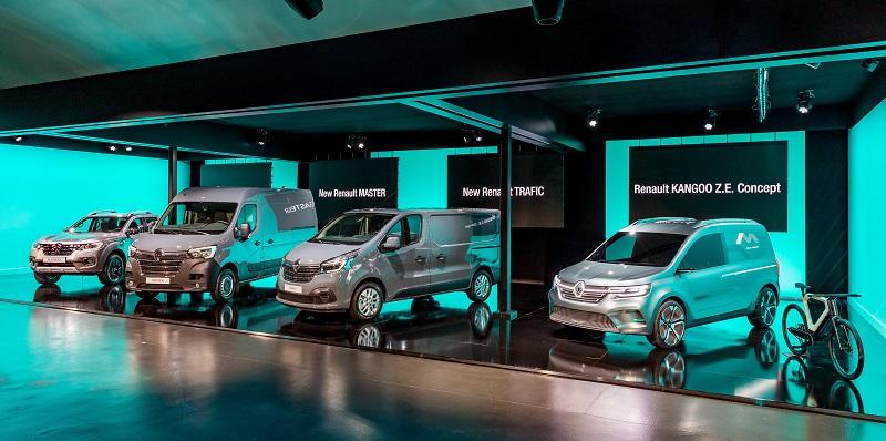 Renault înnoieşte gama sa de utilitare