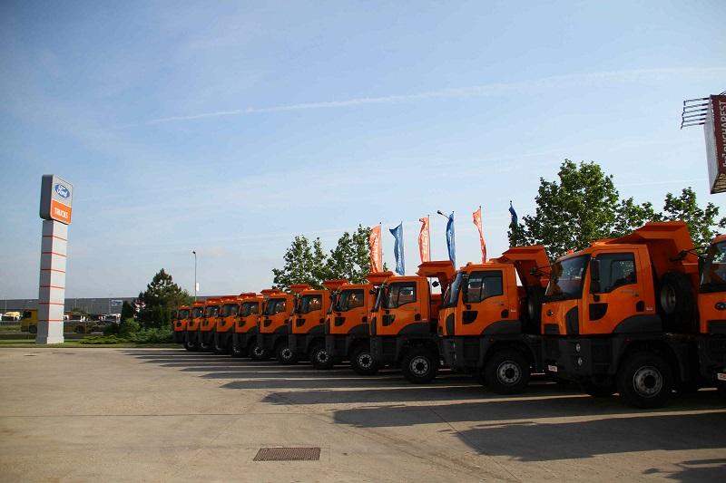 Cefin Trucks a livrat 1.000 de camioane Ford Trucks, în România