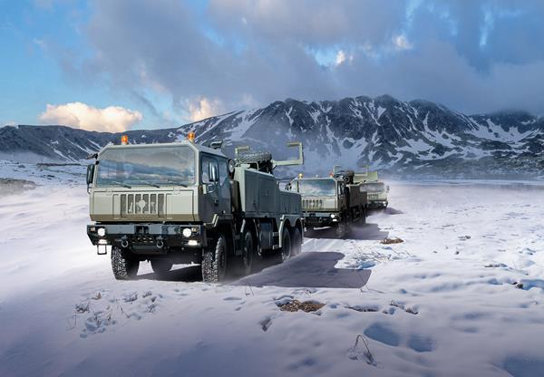 Armata română cumpără platforme de transport pe roți de la Iveco Defence