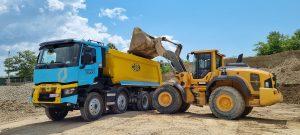 Test de balastieră – Renault Trucks K520 X-Trem